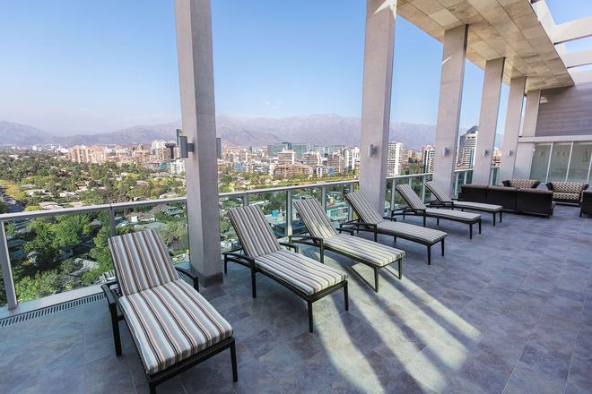 聖地牙哥維塔庫拉 Hyatt Place 酒店 - 聖地牙哥 - 聖地亞哥 - 陽台