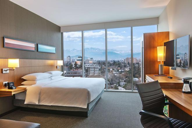 聖地牙哥維塔庫拉 Hyatt Place 酒店 - 聖地牙哥 - 聖地亞哥 - 臥室