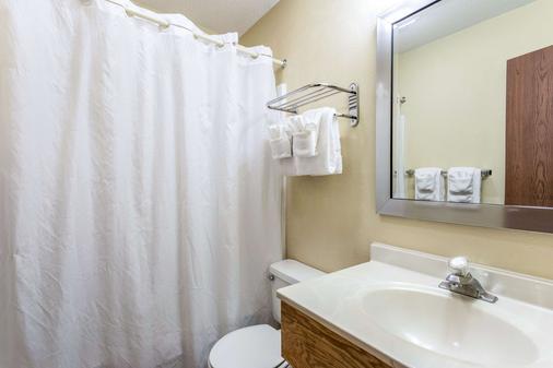 Econo Lodge - Ithaca - Bathroom