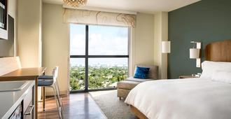 Element Fort Lauderdale Downtown - Fort Lauderdale - Bedroom