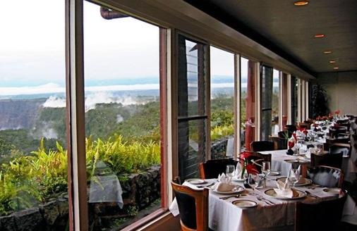 Volcano House Hotel - Volcano - Dining room