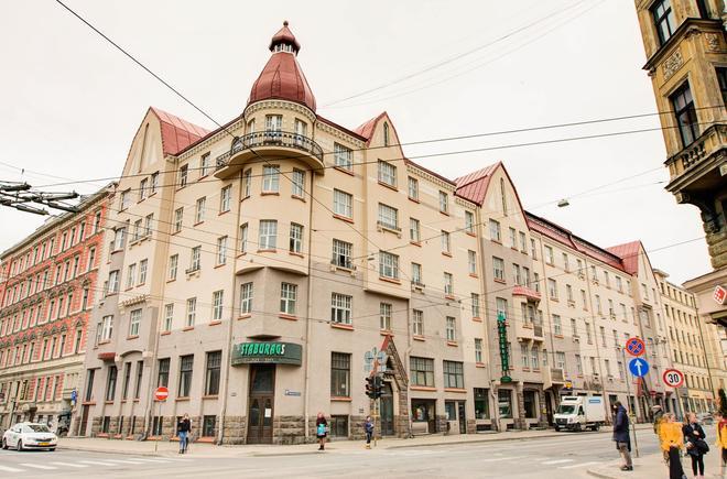 Viktorija Hotel - Riga - Building