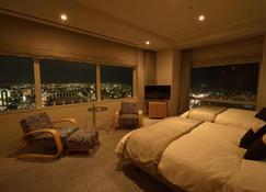 新瀉日航酒店 - 新潟 - 臥室