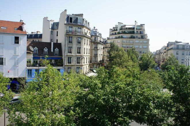 Hotel Edgar Quinet - Paris - Outdoor view
