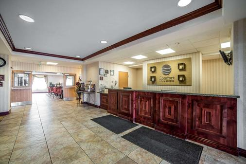 Comfort Inn & Suites - Rock Springs - Front desk