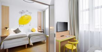 布達佩斯中心宜必思尚品酒店 - 布達佩斯 - 布達佩斯 - 臥室
