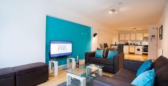 Rest & Recharge Regents Ct 1bed Sleeps 4 - Mánchester - Sala de estar