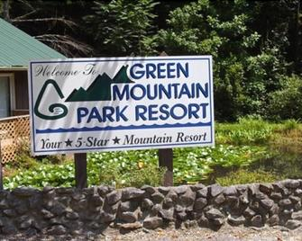 Green Mountain Park Resort - Campground - Lenoir