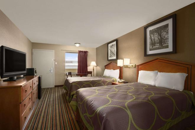 Super 8 by Wyndham Chattanooga/East Ridge - Chattanooga - Bedroom
