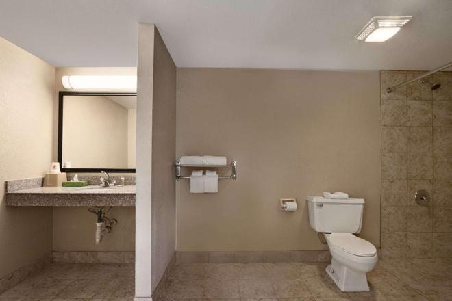 Super 8 by Wyndham Chattanooga/East Ridge - Chattanooga - Bathroom