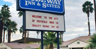 Rodeway Inn near Coachella - Indio - Building