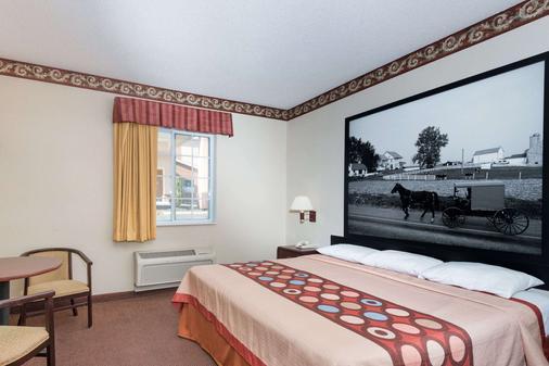 Super 8 by Wyndham Harrisburg Hershey North - Harrisburg - Bedroom