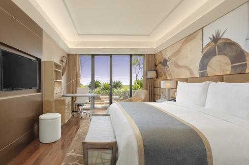 The Leela Ambience Convention Hotel, Delhi - New Delhi - Bedroom