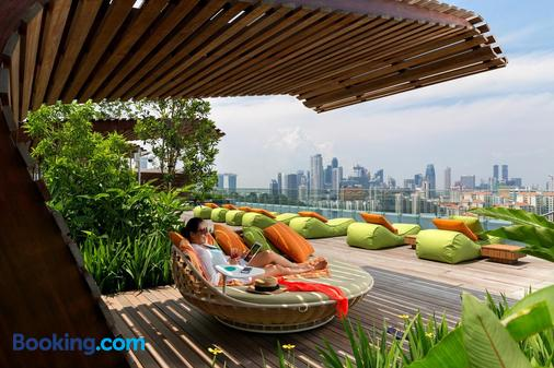 Hotel Jen Orchardgateway Singapore by Shangri-La - Singapore - Balcony