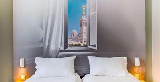 B&B Hotel Marseille La Valentine - Marseille - Bedroom