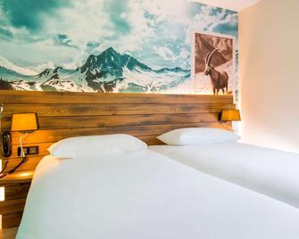 ibis Styles Sallanches Pays du Mont-Blanc - Салланш - Спальня
