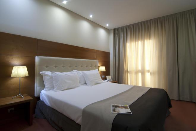 西爾肯體育場酒店 - 聖塔坦德 - 桑坦德 - 臥室