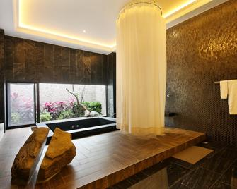 Mulan Motel Taichung - Taichung - Bedroom