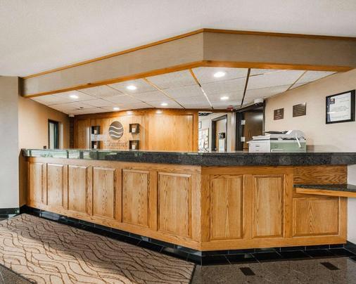 Comfort Inn Denver East - Denver - Front desk