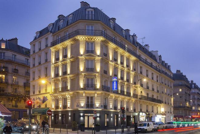 貝斯特韋斯特卡蒂耶拉丁派特翁酒店 - 巴黎 - 巴黎 - 建築
