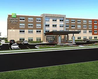 Holiday Inn Express & Suites Elkhorn - Lake Geneva Area - Elkhorn - Building