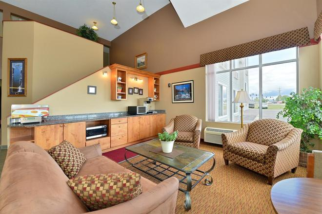Americas Best Value Inn Kalispell - Kalispell - Living room