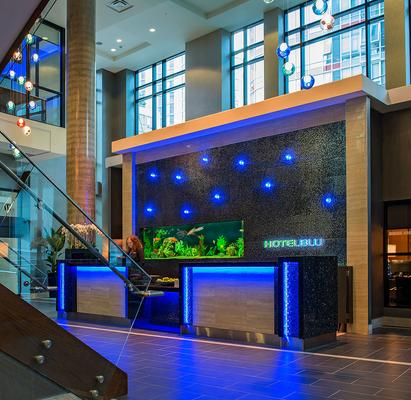 Hotel Blu Vancouver - Βανκούβερ - Σαλόνι ξενοδοχείου
