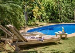 卡拉魯納別墅精品酒店 - 塔瑪琳多 - Tamarindo/塔瑪林度 - 游泳池