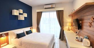 تشيل هاوس آت ناي يانغ بيتش - Sakhu - غرفة نوم