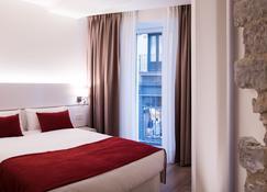 ホテル ポンパエロ プラザ デル アユンタミエント&スパ - パンプローナ - 寝室