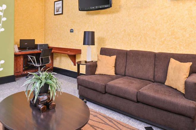 Sleep Inn & Suites Near Downtown North - Houston - Wohnzimmer