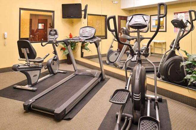 Sleep Inn & Suites Near Downtown North - Houston - Fitnessbereich