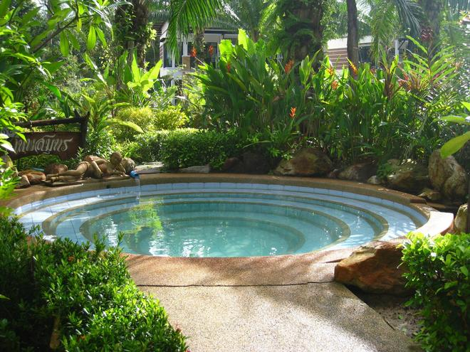 Nattha Waree Hot Spring Resort And Spa - Krabi - Uima-allas