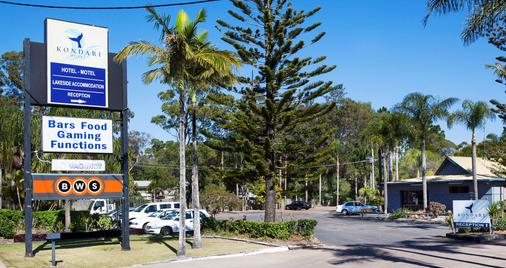 Kondari Hotel - Hervey Bay - Cảnh ngoài trời