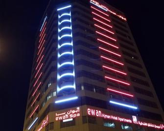 Ewan Ajman Suites Hotel - Ajman - Gebouw