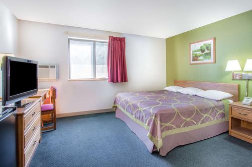 Super 8 by Wyndham Richmond/Broad Street - Richmond - Phòng ngủ