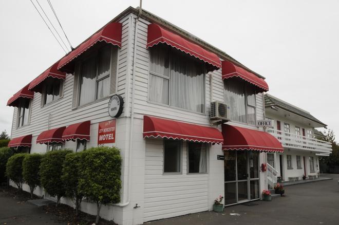 City Worcester Motel - Christchurch - Rakennus