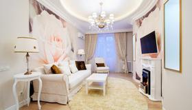 Vip-kvartira Leningradskaya 1 3 5 - Minsk - Wohnzimmer