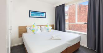 City Edge Serviced Apartments East Melbourne - מלבורן - חדר שינה