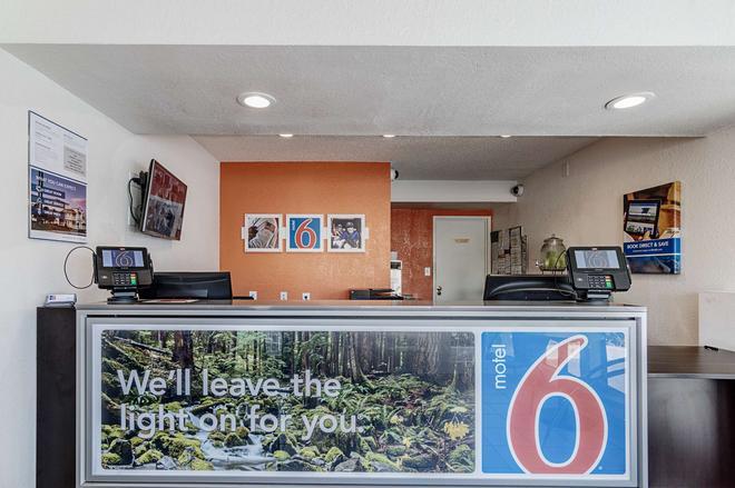 莫德斯托 6 號汽車旅館 - 莫德斯托 - 莫德斯托 - 櫃檯