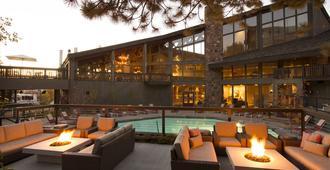 Snow King Resort - ג'קסון - פטיו