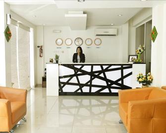 Al Sablah Hotel Apartment - Seeb - Front desk