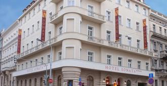 Ea Hotel Sonata - Прага - Здание