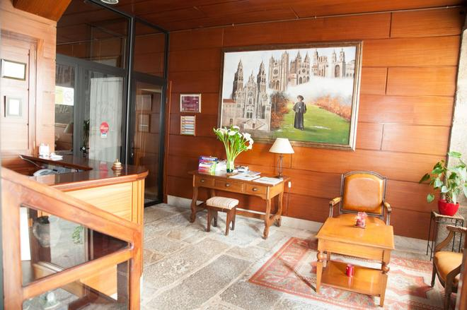 Hotel Entrecercas - Santiago de Compostela - Vastaanotto