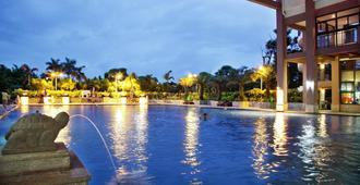 Golden Sunshine Tide Hotspring Resort - Haikou - Pool