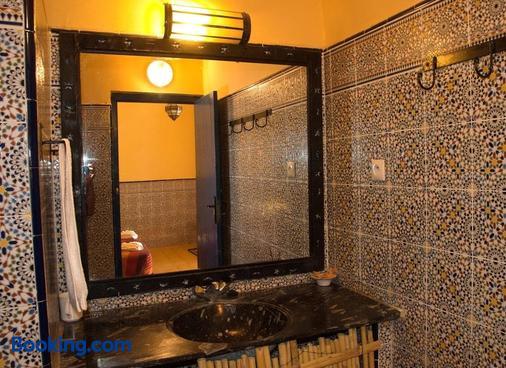 Hotel Riad Ali - Merzouga - Bathroom