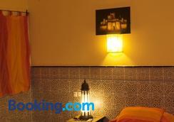 Hotel Riad Ali - Merzouga - Bedroom