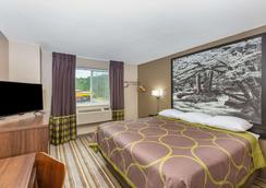 Super 8 by Wyndham Chattanooga Lookout Mountain TN - Chattanooga - Bedroom