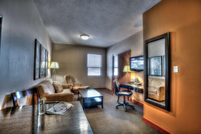 Podollan Inn & Spa - Grande Prairie - Grande Prairie - Living room