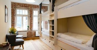 Hostel Multitude - Lipsia - Camera da letto